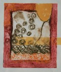 Drypoint monoprint by Bidhata