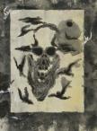 Pochoir stencil print by Govinda