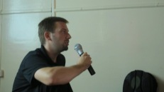 Sasha Peric talking about his work.